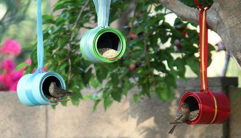 Favorito Birdgardening. Dal barattolo alla mangiatoia | YouAnimal.it AA39