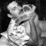 Freddie Mercury e i suoi amati gatti [Foto e video]