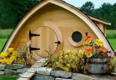 Hobbit Holes Chicken Coop