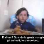 Animali, un bambino insegna [Video]
