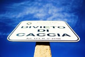 DIVIETO CACCIA