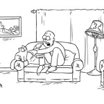 Simon's Cat. Scary Legs [Video]