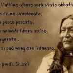 """Orso in Piedi, capo Sioux: """"Quando…"""""""