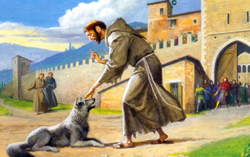 San francesco e il lupo youanimal