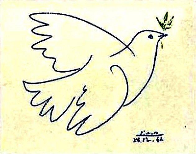 abbastanza La Colomba della Pace di Picasso | YouAnimal.it PG84
