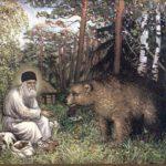 San Serafino e l'orso